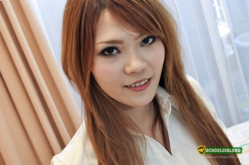 Busty Asian Schoolgirl Mie Moans As She Is Nailed Deep.